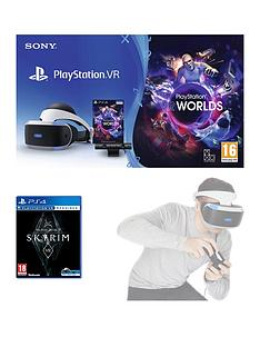 playstation-vr-starter-pack-with-the-elder-scrolls-v-skyrimnbspand-vr-worlds