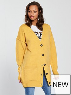 v-by-very-oversized-button-through-cardigan-ochre