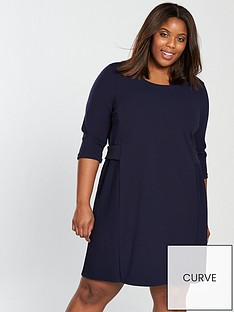 junarose-junarose-curve-kille-34-sleeve-shift-dress