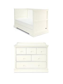 mamas-papas-mamas-papas-oxford-cot-bed-dresser-changer--white