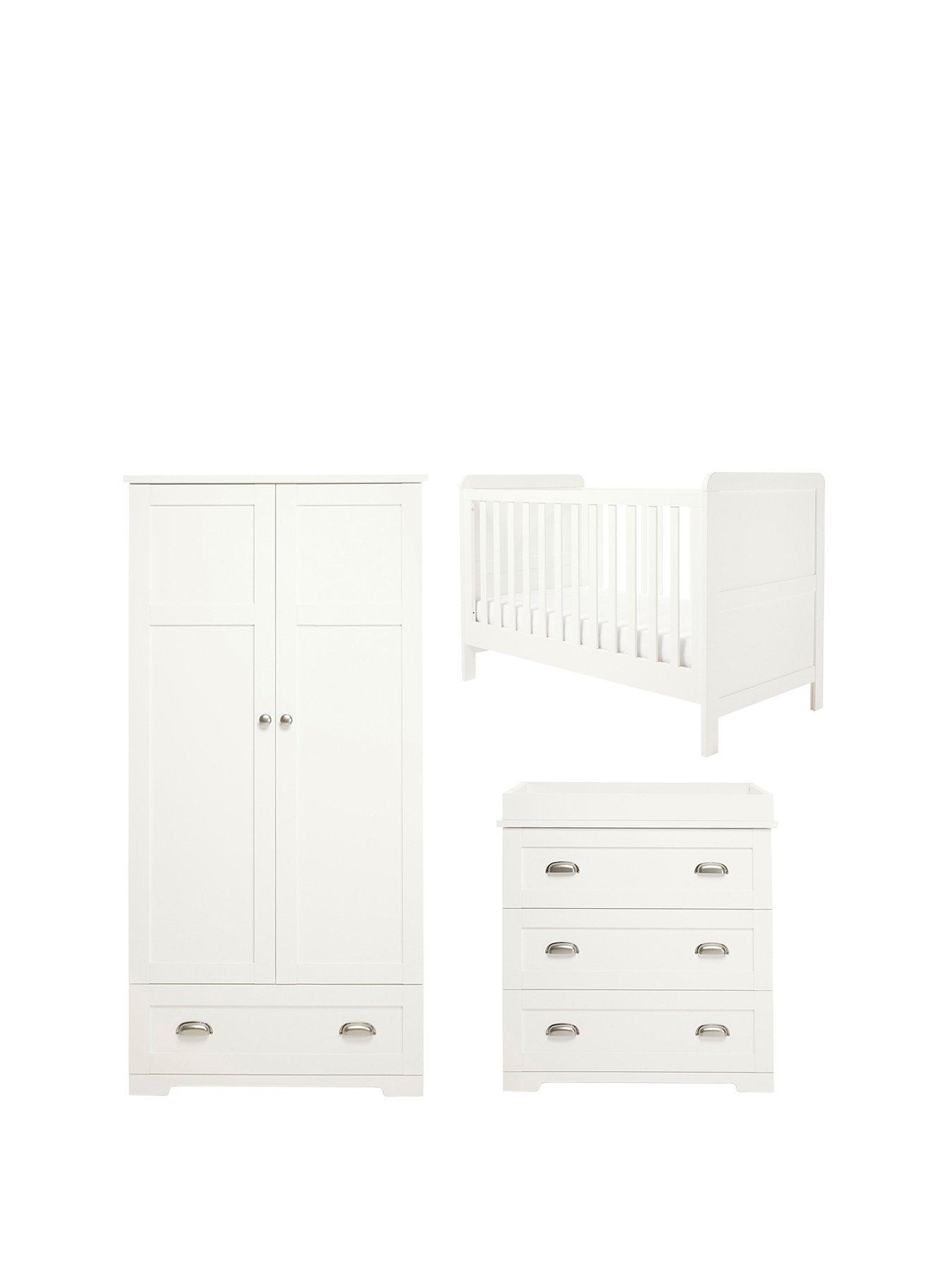 Mamas U0026 Papas Shipley Cot Bed, Dresser U0026 Wardrobe | Very.co.uk