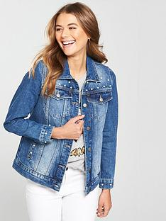v-by-very-pearl-and-stud-detail-denim-jacket