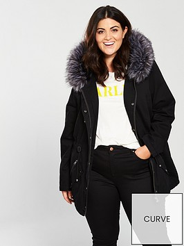 v-by-very-curve-faux-fur-parka-blacknbsp