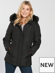 v-by-very-short-faux-fur-trim-paddednbspcoat-black