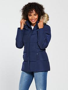 v-by-very-short-faux-fur-trim-paddednbspcoat-navy