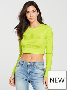 adidas-originals-dye-pack-longsleeve-crop-top-yellownbsp