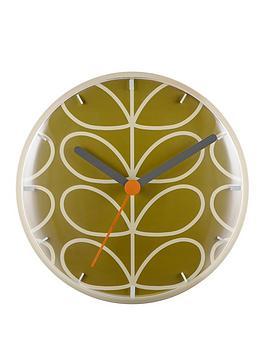 orla-kiely-linear-stem-moss-wall-clock
