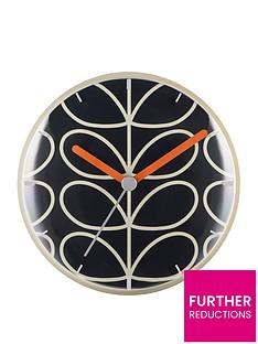 orla-kiely-linear-stem-slate-wall-clock
