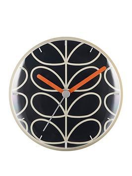 orla-kiely-linear-stem-slate-wall-clock