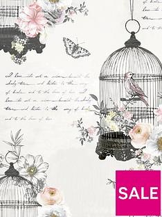 arthouse-diamond-birdcage-neutral-wallpaper