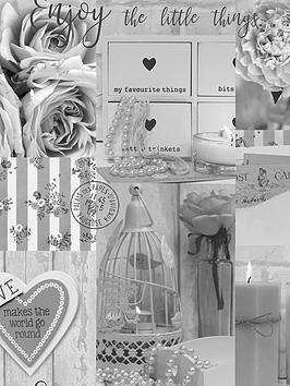 arthouse-diamond-rose-mono-wallpaper