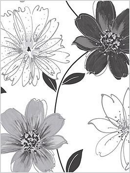 arthouse-glitter-samba-black-and-white-wallpaper