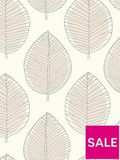 arthouse-sketched-leaf-neutral-wallpaper