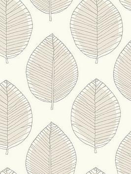 arthouse-sketched-leaf-neutral-wallpaper