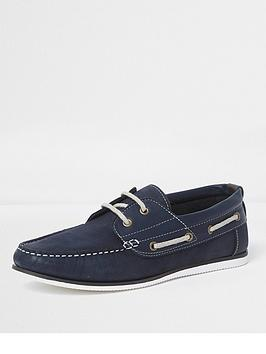 river-island-leather-boat-shoe