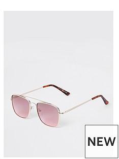 river-island-pink-lens-round-sunglasses