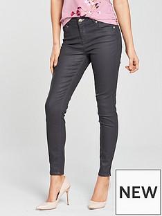 ted-baker-aneella-coated-skinny-jean-grey