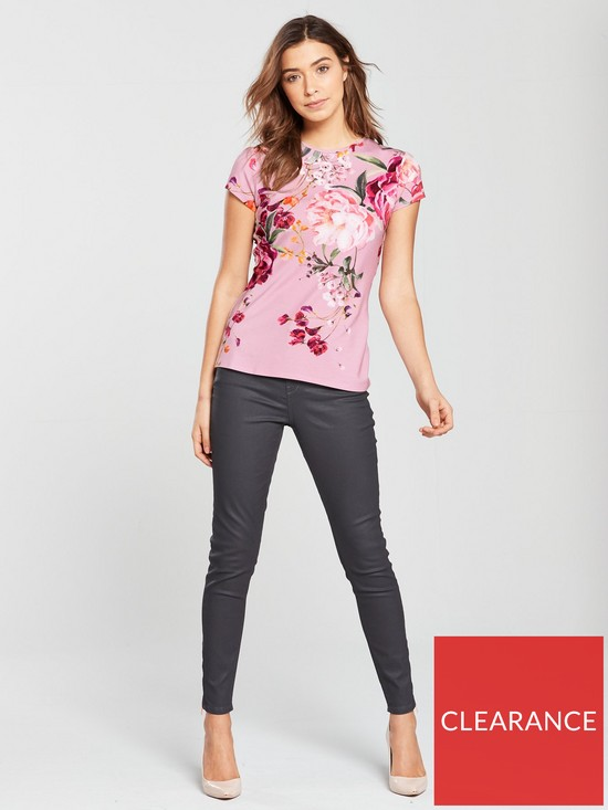 837aa0888eef4f ... Ted Baker Aneella Coated Skinny Jean - Grey. View larger