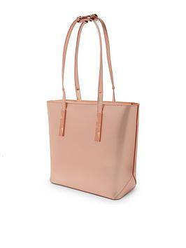ted-baker-jaceyy-adjustable-handle-zip-shopper-rose-gold