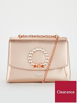 ted-baker-pearlz-pearl-bow-cross-body-bag-rose-goldnbsp