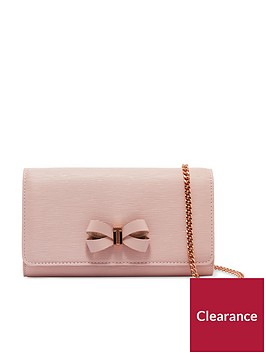 ted-baker-melisia-bow-matinee-purse-with-chain-light-pink