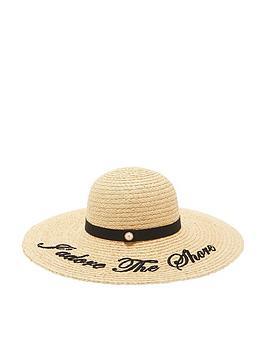 ted-baker-albizia-script-embroidered-floppy-hat