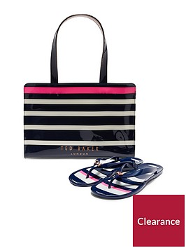ted-baker-ned-stripe-icon-flip-flop-set-navy