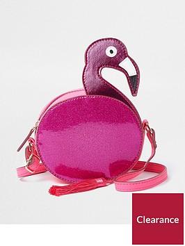 river-island-girls-pink-glitter-flamingo-cross-body-bag