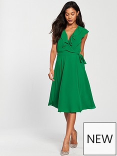 phase-eight-allegra-wrap-dress-greennbsp
