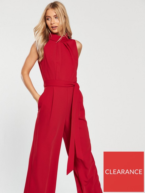d27d903074c2 ... Phase Eight Cressida Roll Neck Jumpsuit - Carmine. View larger