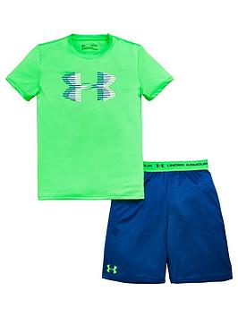 Under Armour Boys' UA Tech Prototype Shorts 2.0 Image