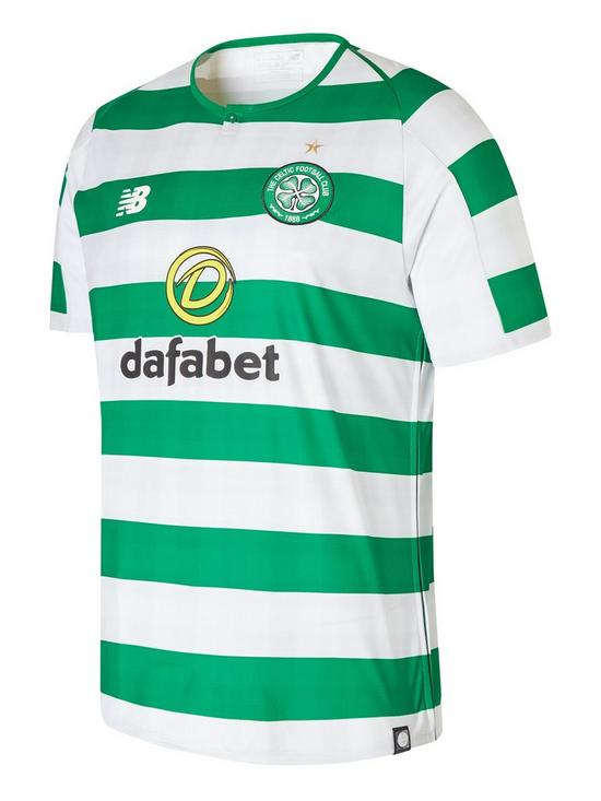 11e70192b New Balance Celtic FC Home Short Sleeved Shirt
