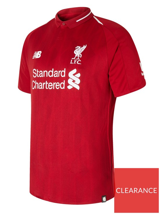 399c4309b9c New Balance Liverpool FC 18 19 Home Short Sleeved Shirt