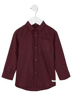 river-island-mini-boys-burgundy-long-sleeve-oxford-shirt