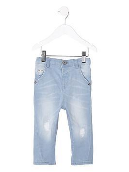 river-island-mini-boys-light-blue-tony-ripped-tapered-jean