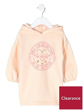 river-island-mini-girls-lsquogirls-can-sweatshirt-dress-pink