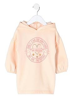river-island-mini-girls-pink-lsquogirls-canrsquo-sweatshirt-dress