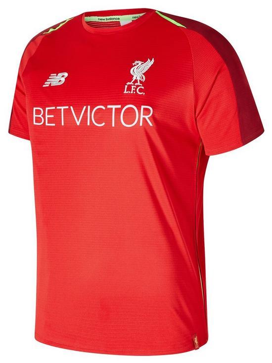 New Balance Liverpool FC Elite Training Short Sleeve Jersey  691e12036