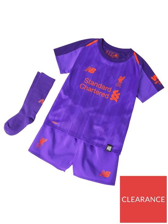 ba361e220 New Balance New Balance Liverpool Fc Away Infant 18 19 Kit Set ...