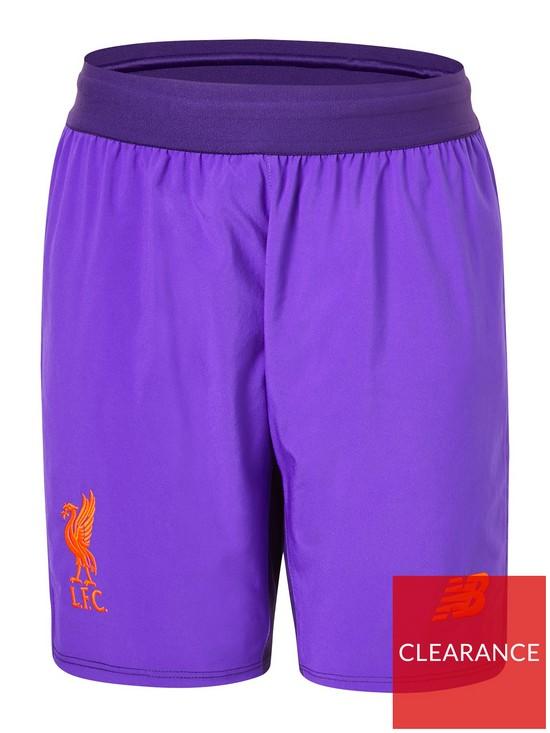 4a7b24130 New Balance Liverpool FC Junior 18 19 Away Shorts