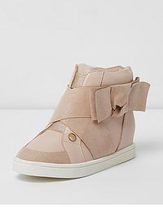 river-island-girls-pink-bow-side-hi-top-trainers