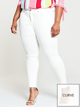 junarose-queen-slim-jeans-white