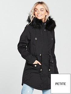 v-by-very-petite-ultimate-parka-blacknbsp