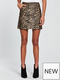 v-by-very-animal-print-mini-skirt