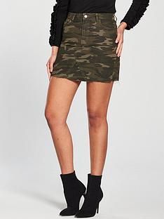 v-by-very-camo-denim-skirt