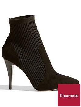 karen-millen-knitted-stretch-boot