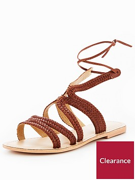office-saturn-leather-sandal-brown