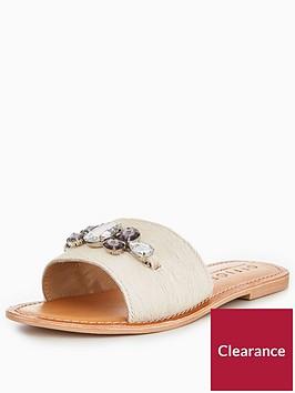 office-sadie-pony-flat-sandal-white