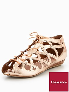 office-arabian-nights-flat-shoe-rose-gold