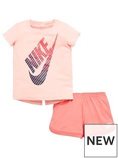 nike-nike-younger-girl-futura-tee-and-shorts-set